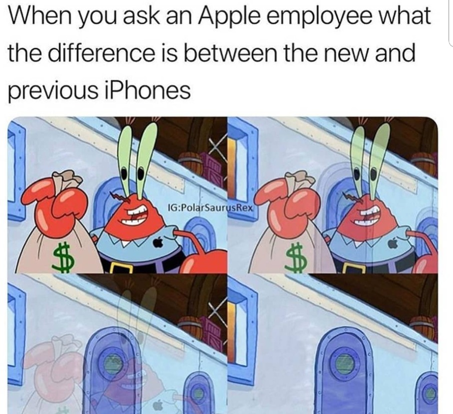 Samsung>Apple - meme