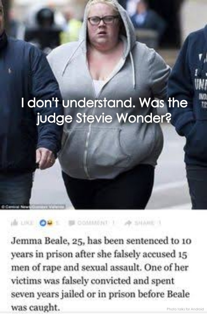 Stupid or blind judge - meme