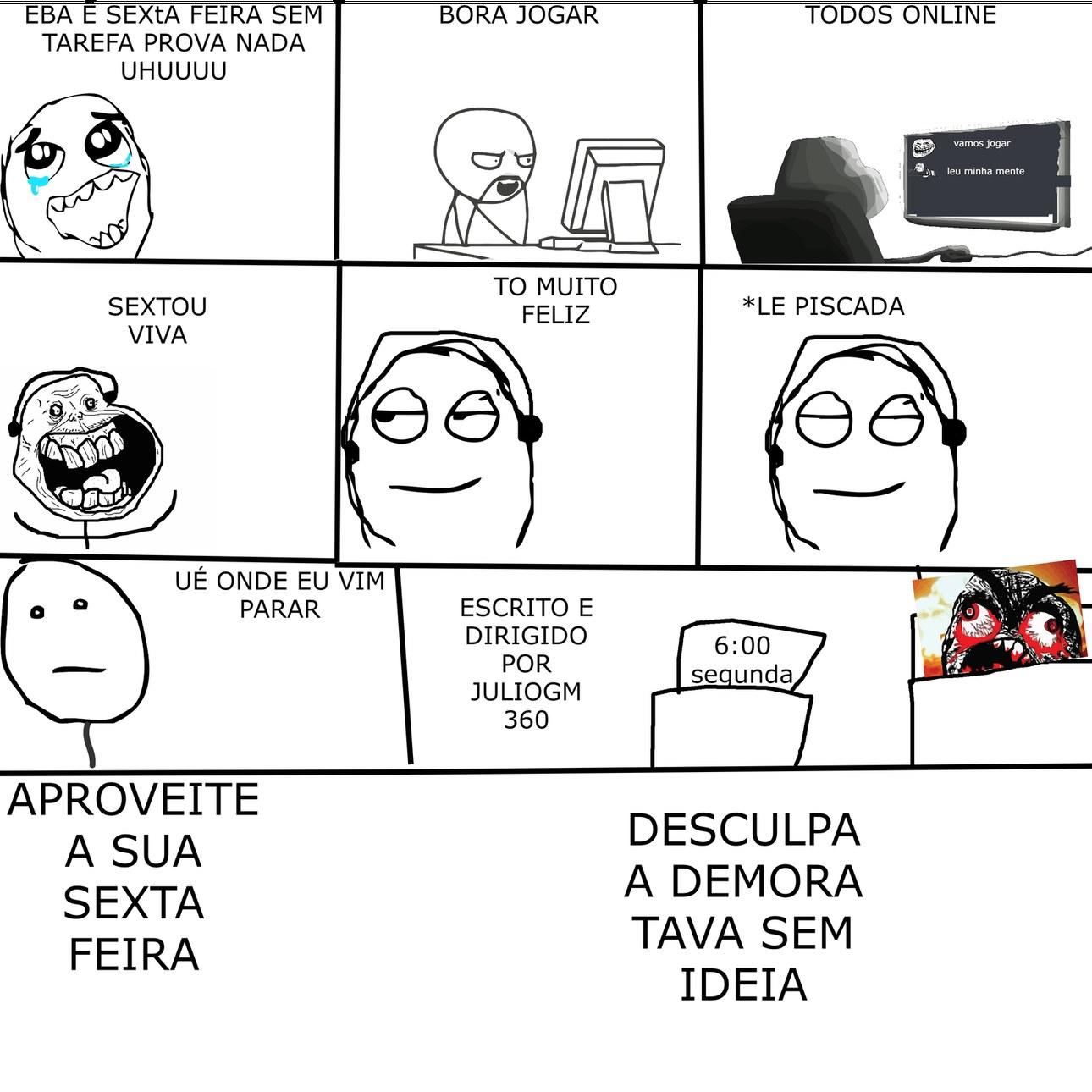 SEXTA FEIRA - meme