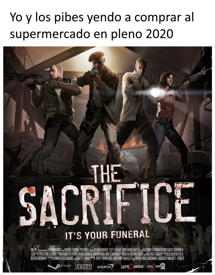 Valve lo predijo - meme