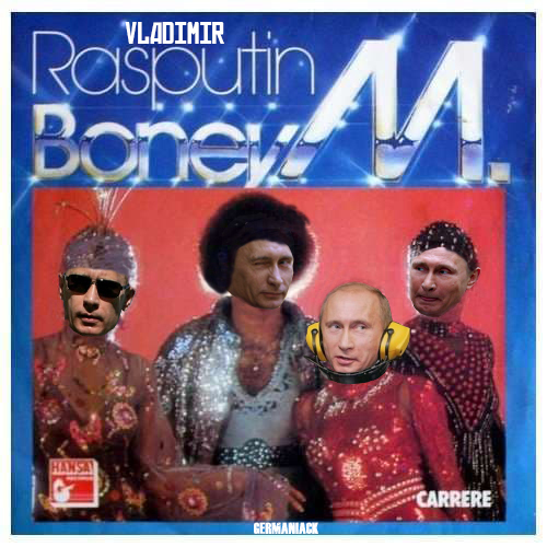 Vladimir RasPutin - meme