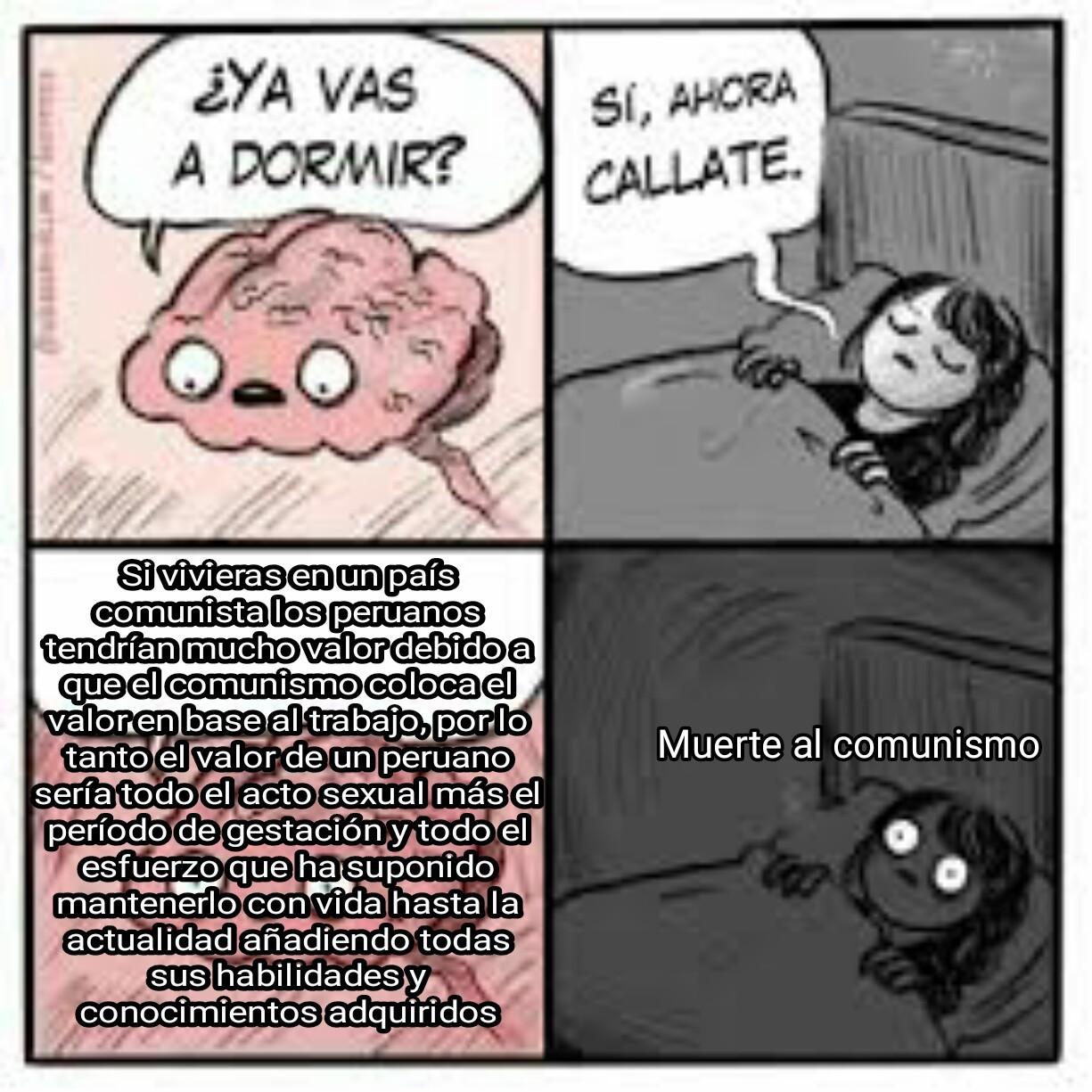 Marx le dió valor a los peruanos OMG - meme