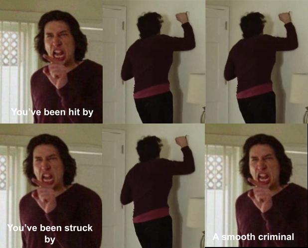 Smooth criminal - meme