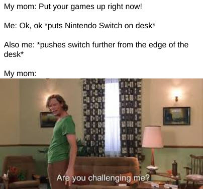I love my Nintendo Switch, I don't care about what other people say about other consoles - meme