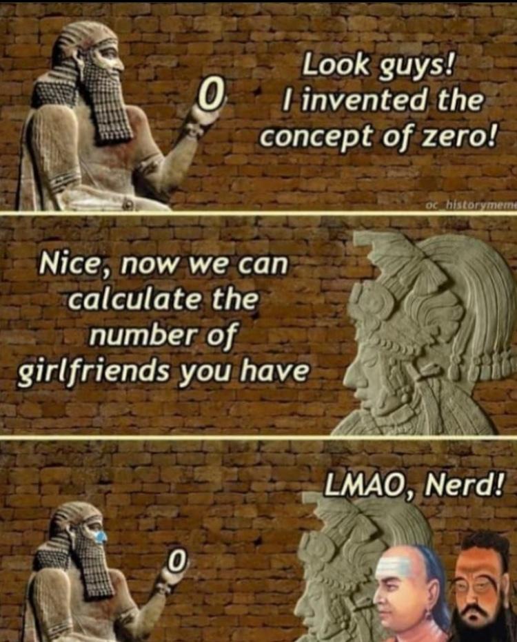 ha what a nerd - meme