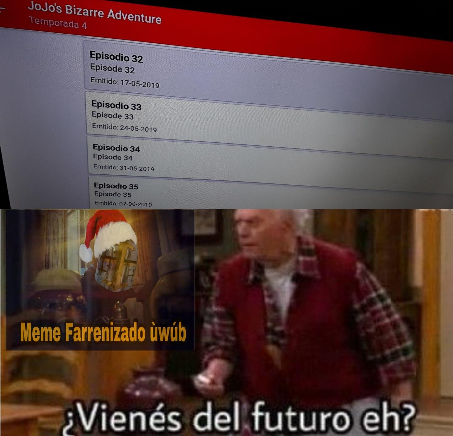 ALGO ANDA MAL - meme