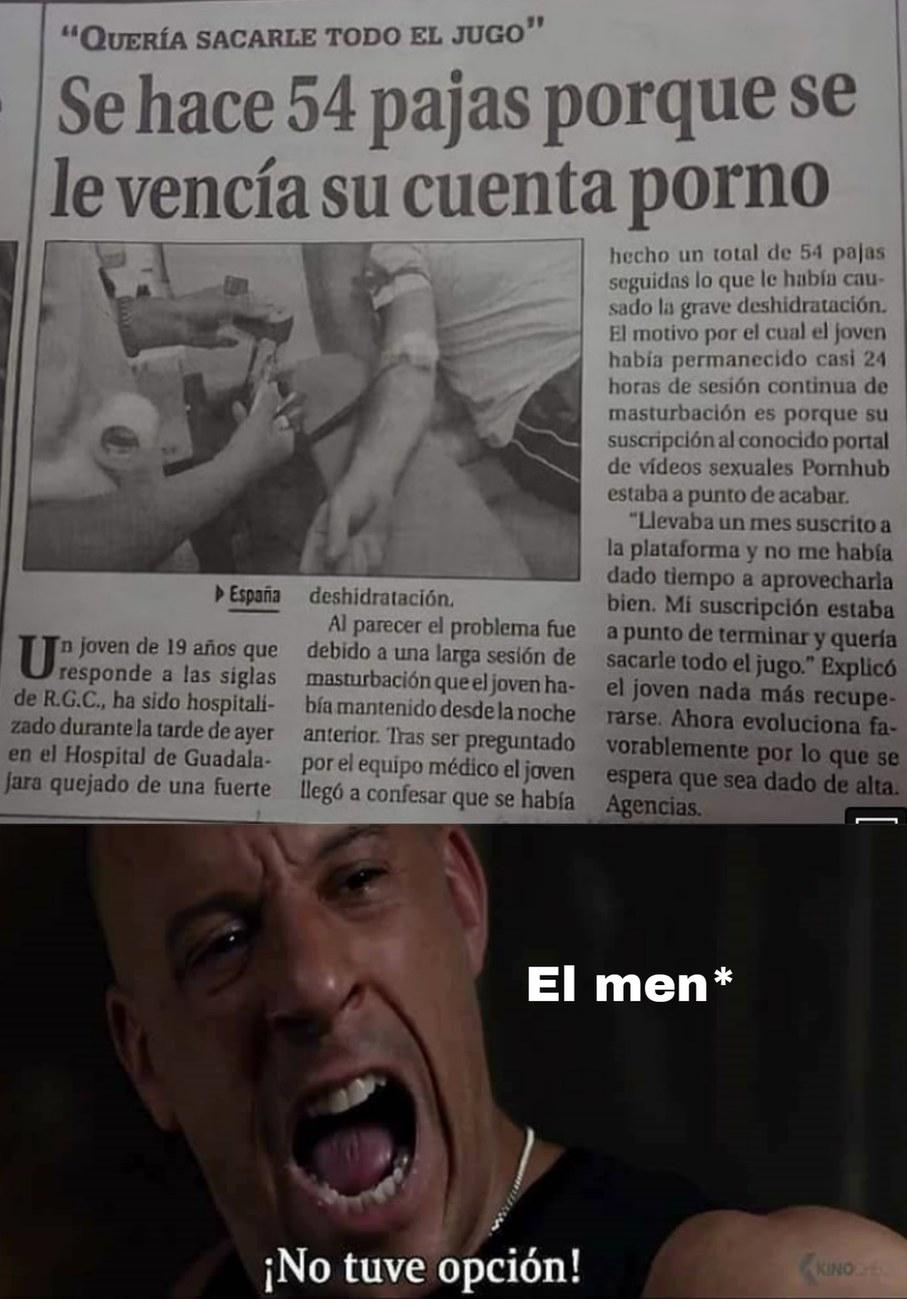 Mucha paja - meme