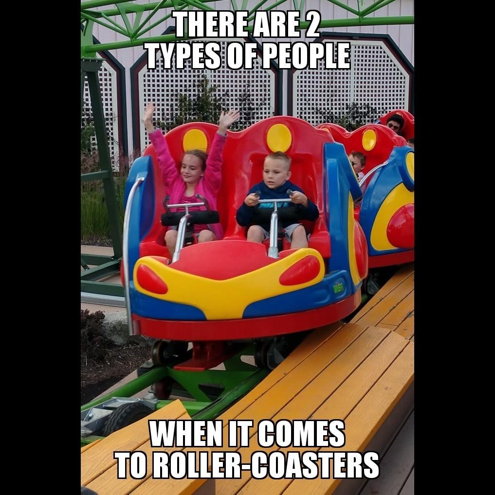 Roller-coaster - meme