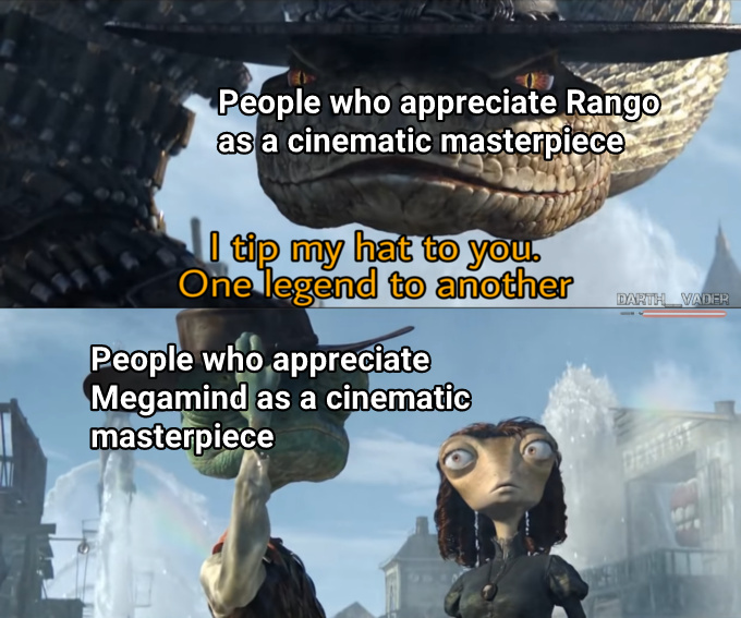 Both fantastic animated films - meme