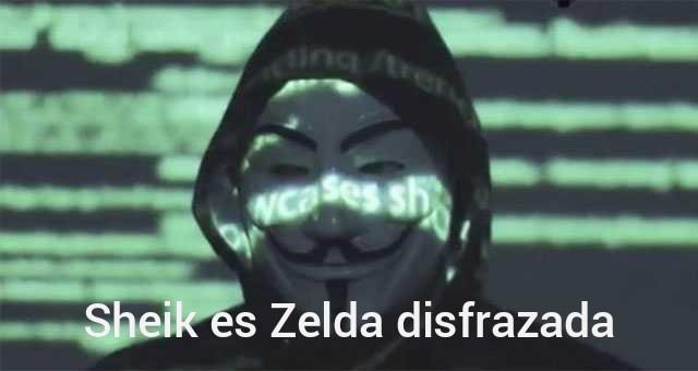De leyend of Zelda - meme