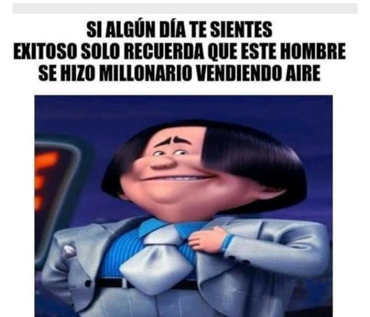 Solo piensa - meme