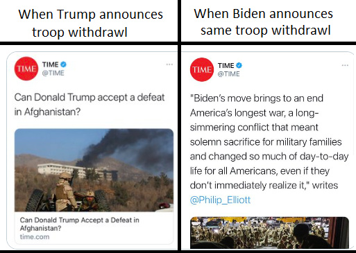Don't believe there is media bias? - meme