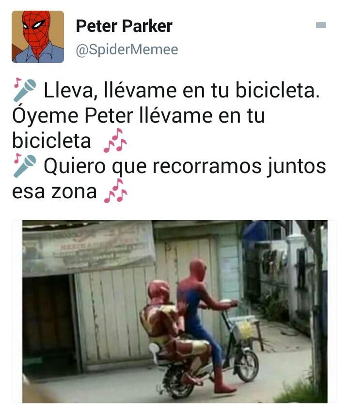 Spidy xD - meme