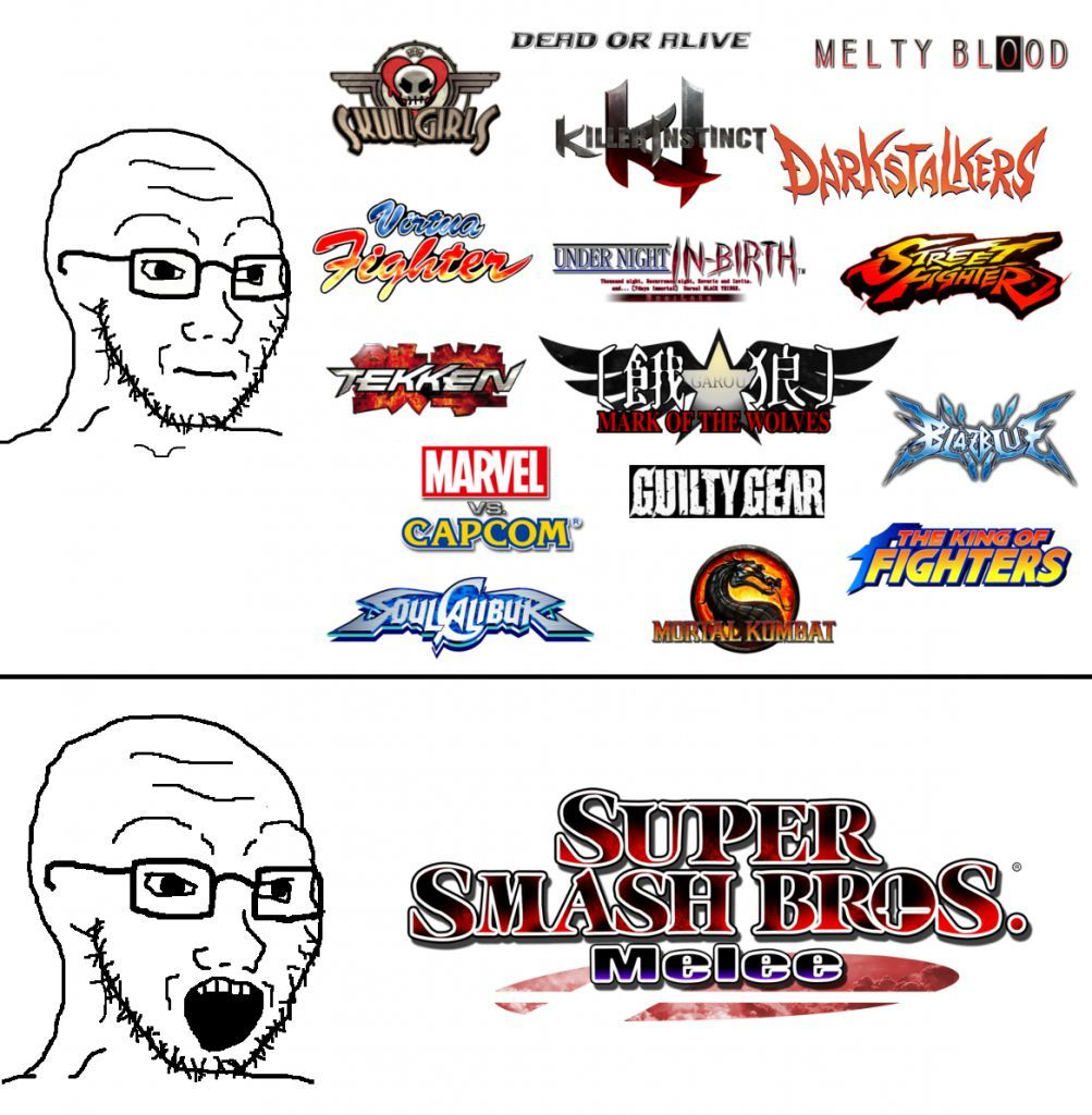 Muh smash bros - meme
