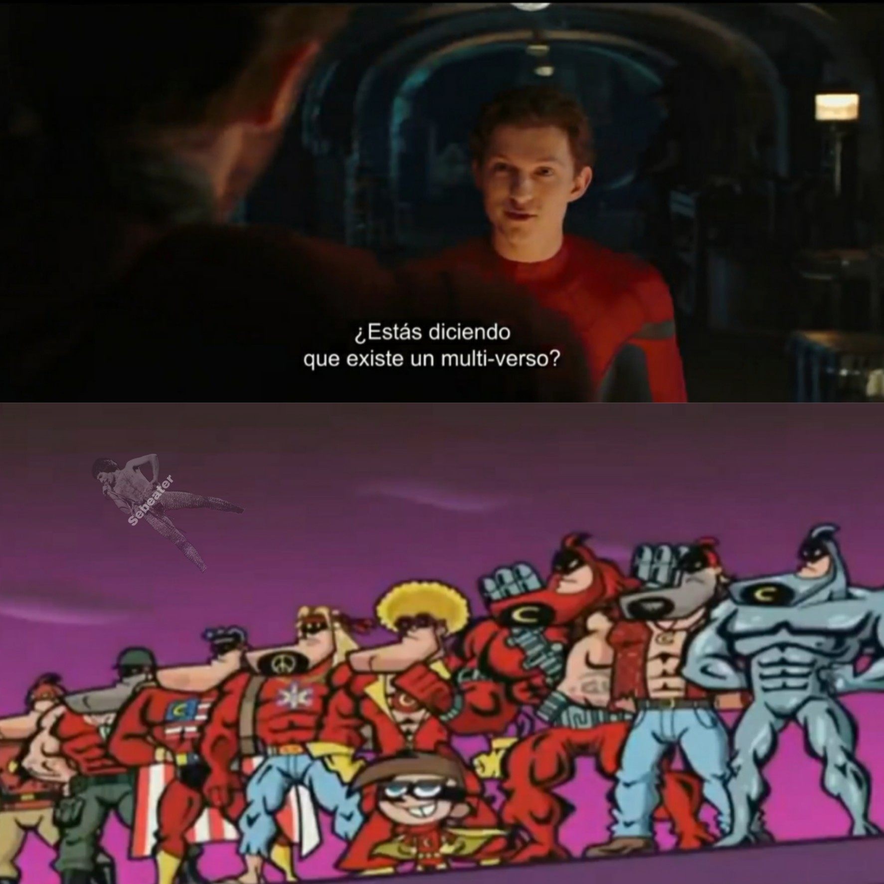 Barbilla Roja - meme