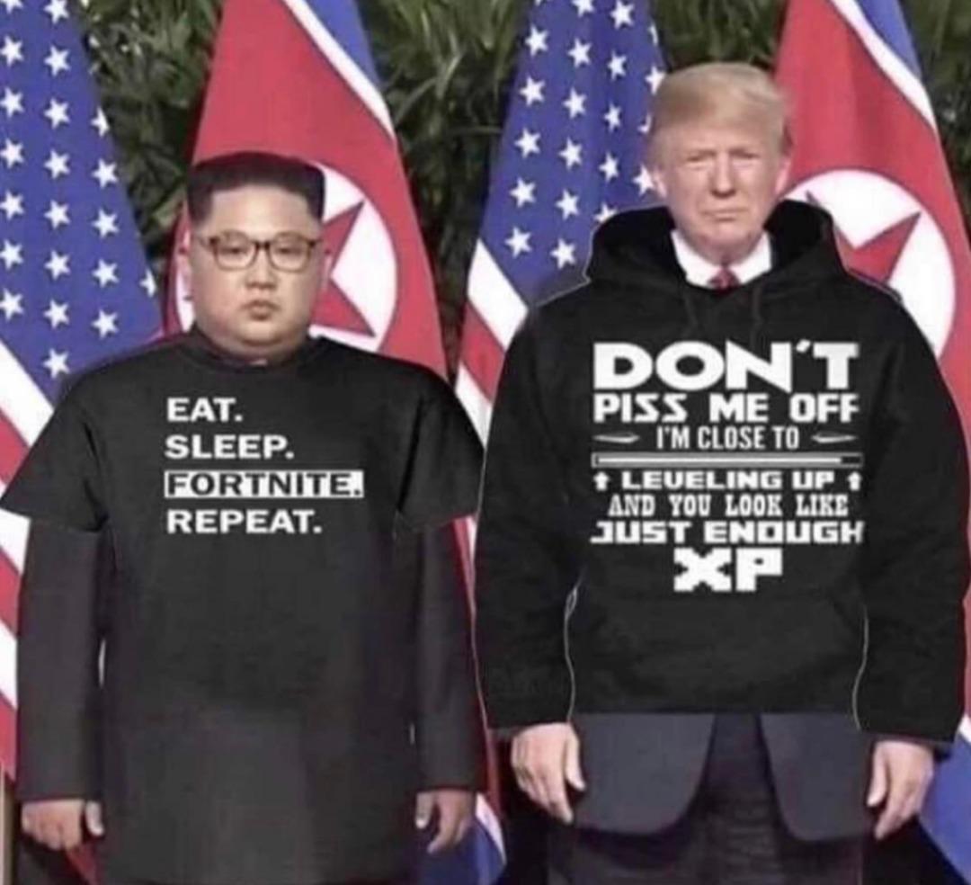 Finally a gamer president! - meme