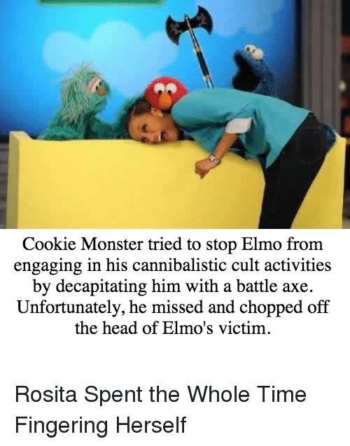cannibalism - meme