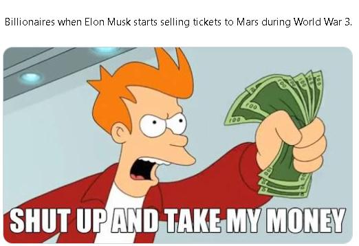 Thanks Elon musk - meme