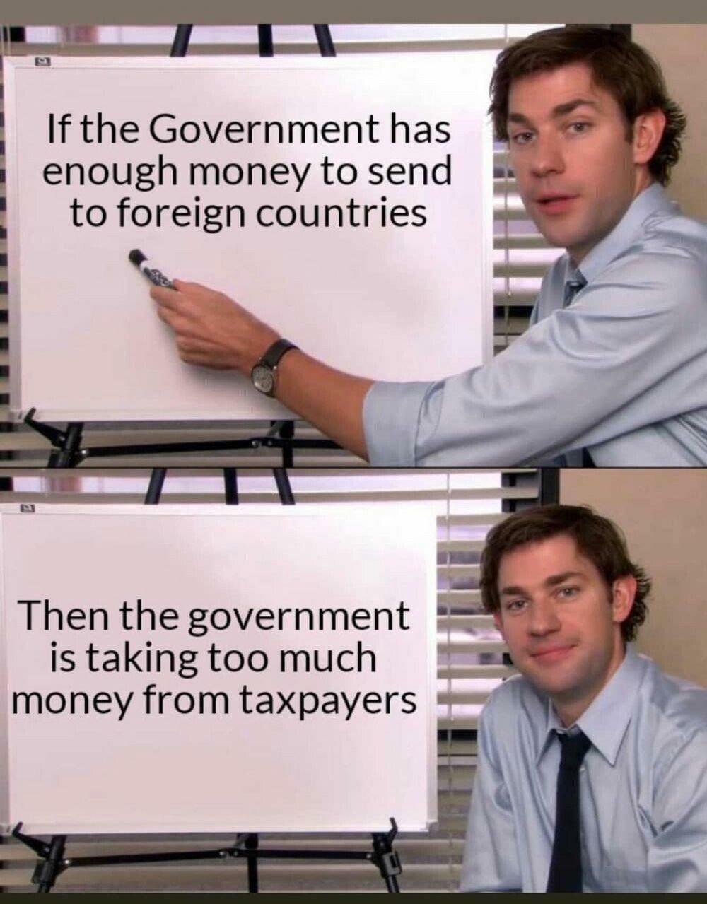 Government bad - meme