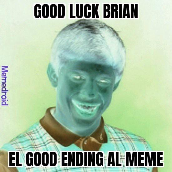 El good ending :v - meme
