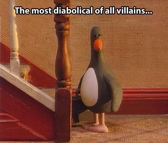 O mais diabólico de todos os vilões  ( esses filmes eram fodas) - meme