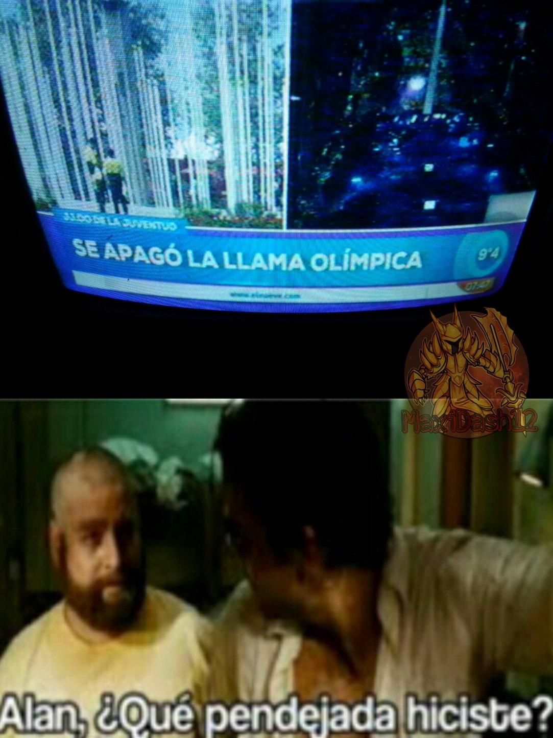 Estos juegos olimpicos... - meme