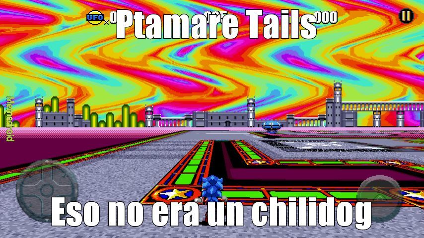Tails pinche mariguano - meme