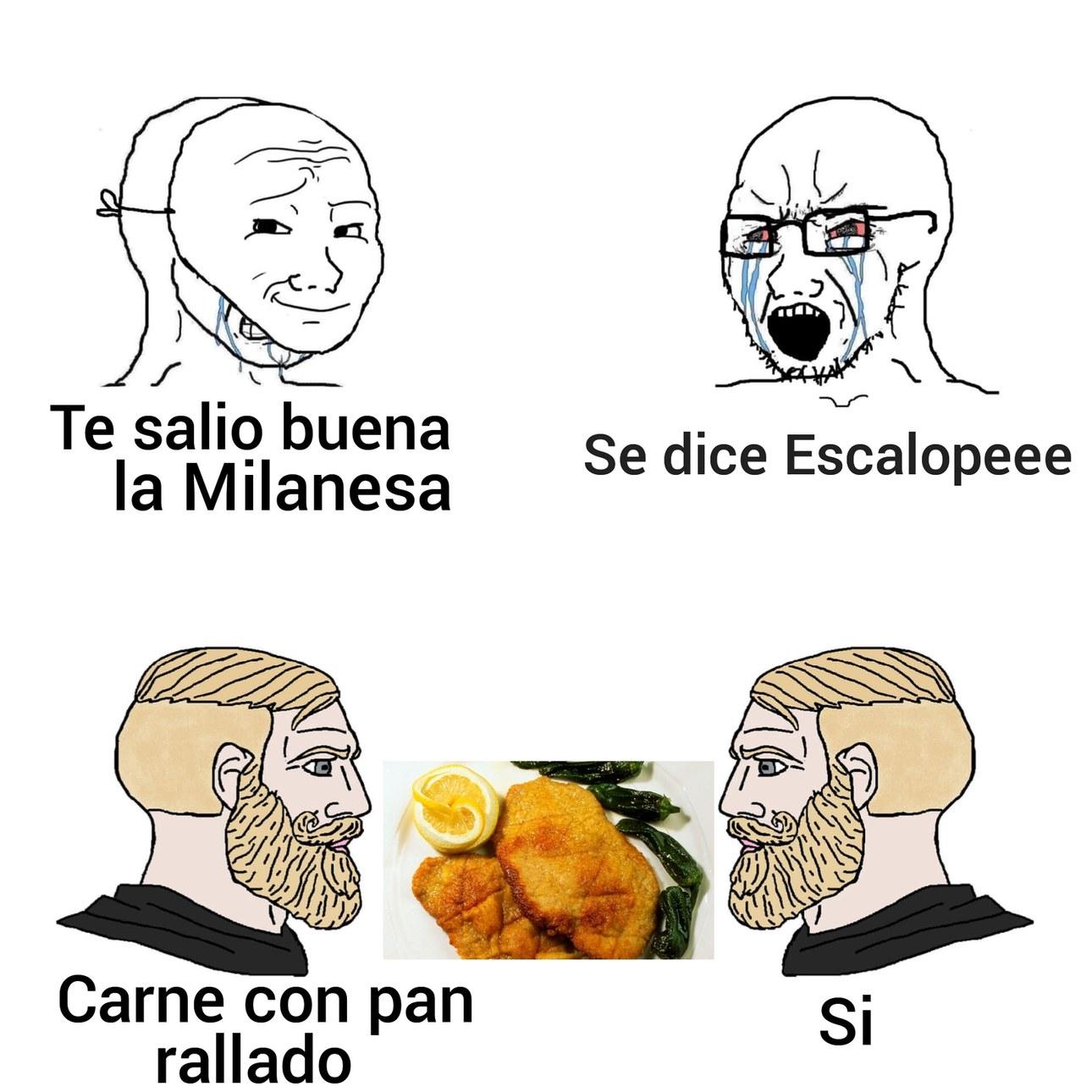 MMM CARNE CON PAN - meme