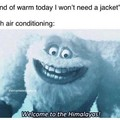 Keep the thermostat before freezing