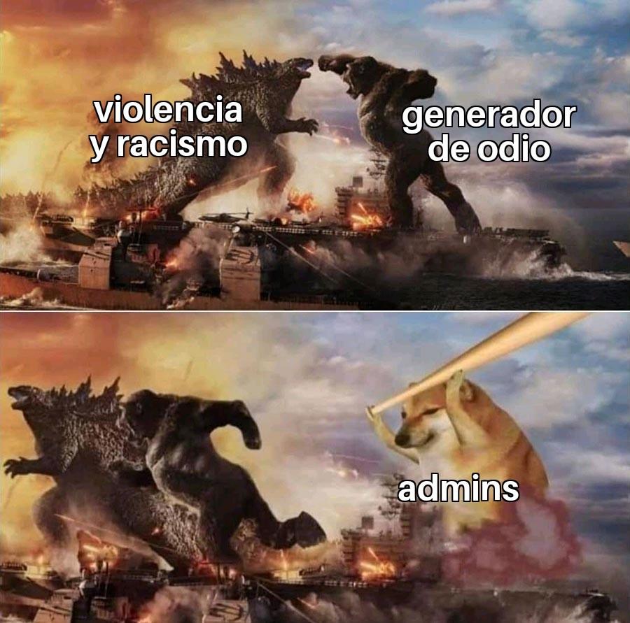 gracias moss/admins ;) - meme