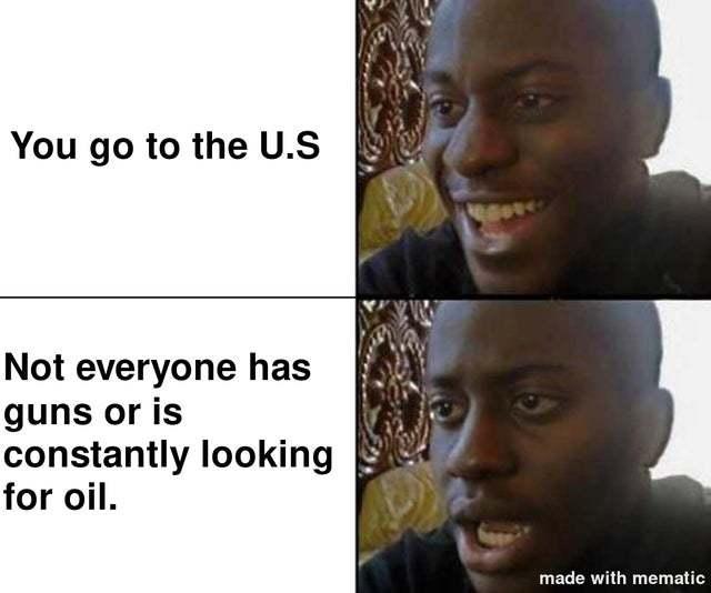 Where are the guns? - meme