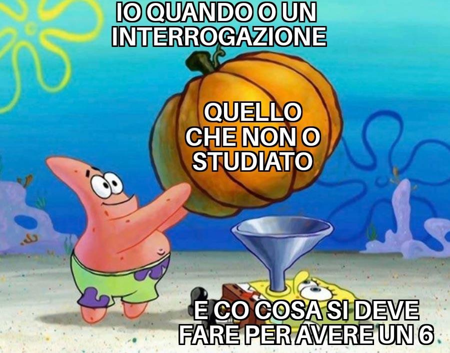 QUANDO VENGO INTERROGATO - meme