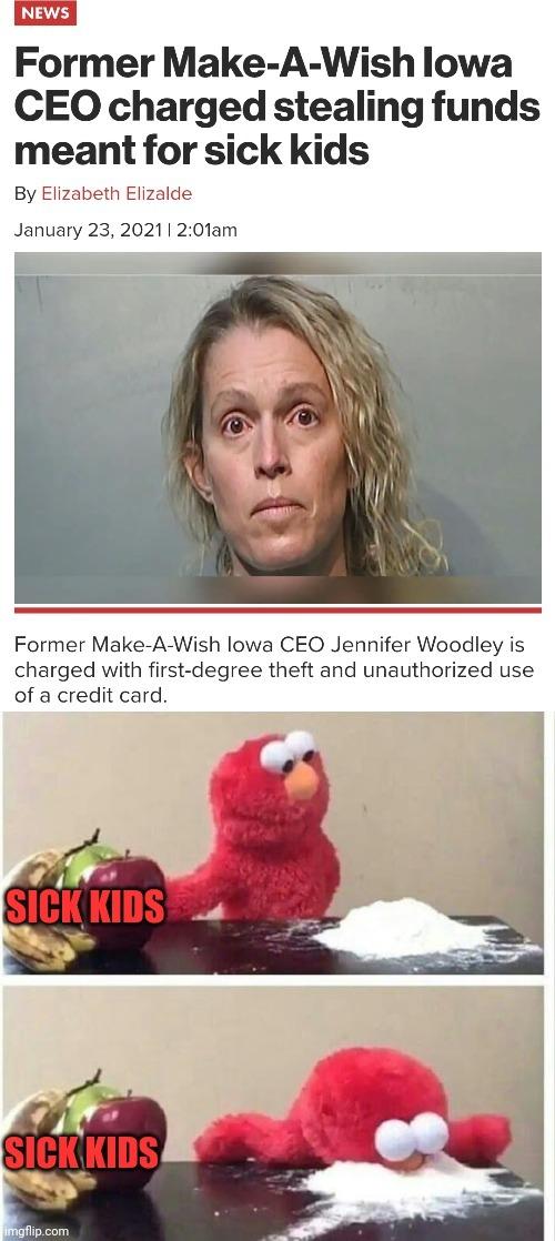 She wish for herself - meme