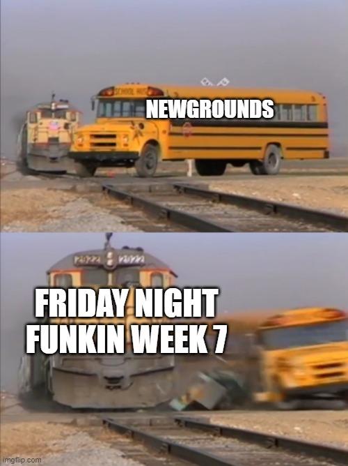 El juego hizo que newgrounds se callera y bueno XD - meme