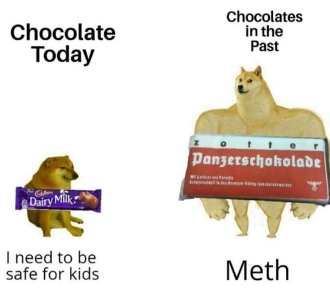 Based Chocolate - meme