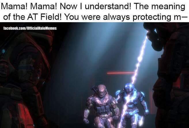 Evangelion reference - meme
