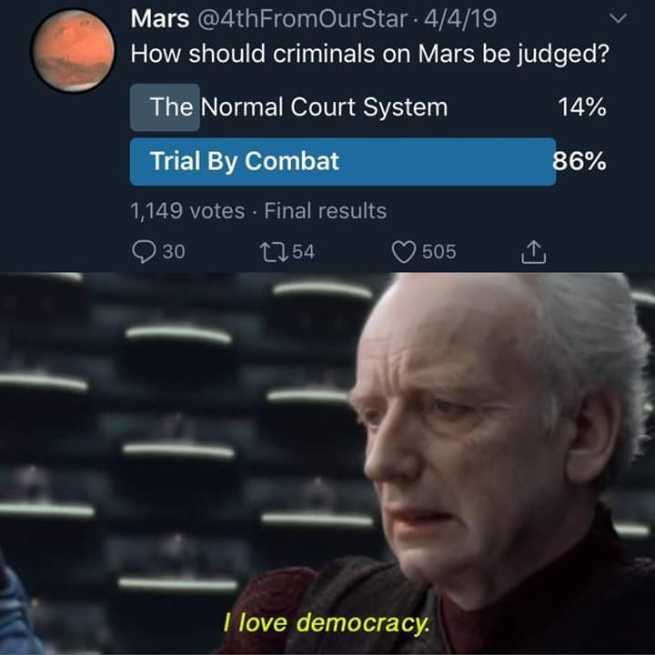 The people have spoken! - meme