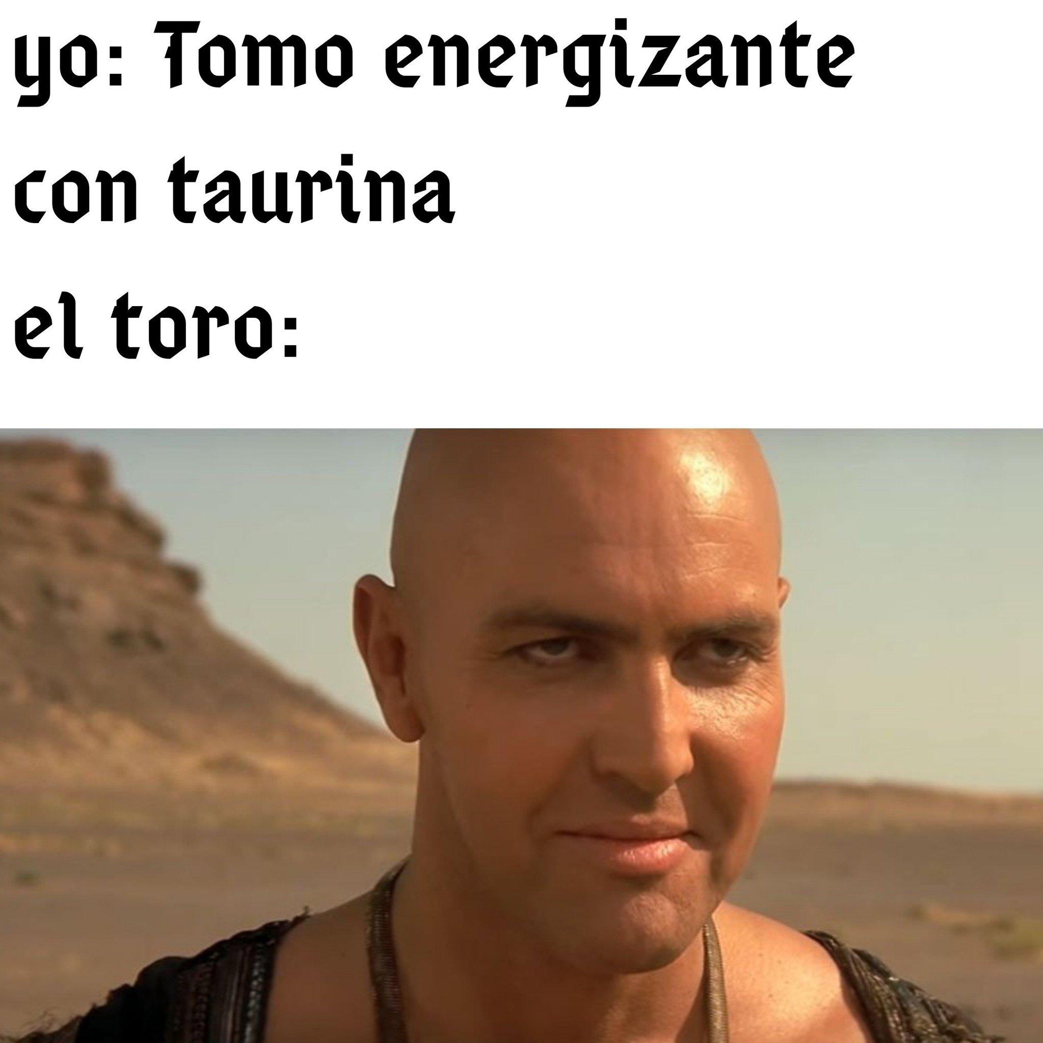 Meado de toro - meme