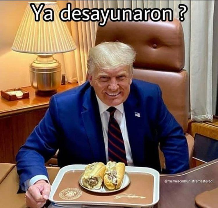 desayuno - meme