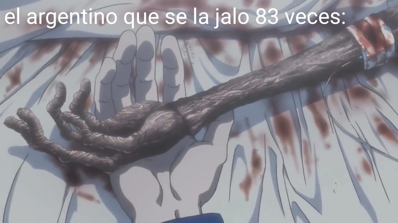 Por si no saben un argentino rompio el record de masturbase mas veces en menos de 24 horas - meme