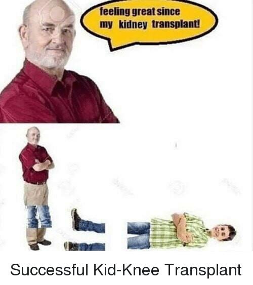Kid knee - meme