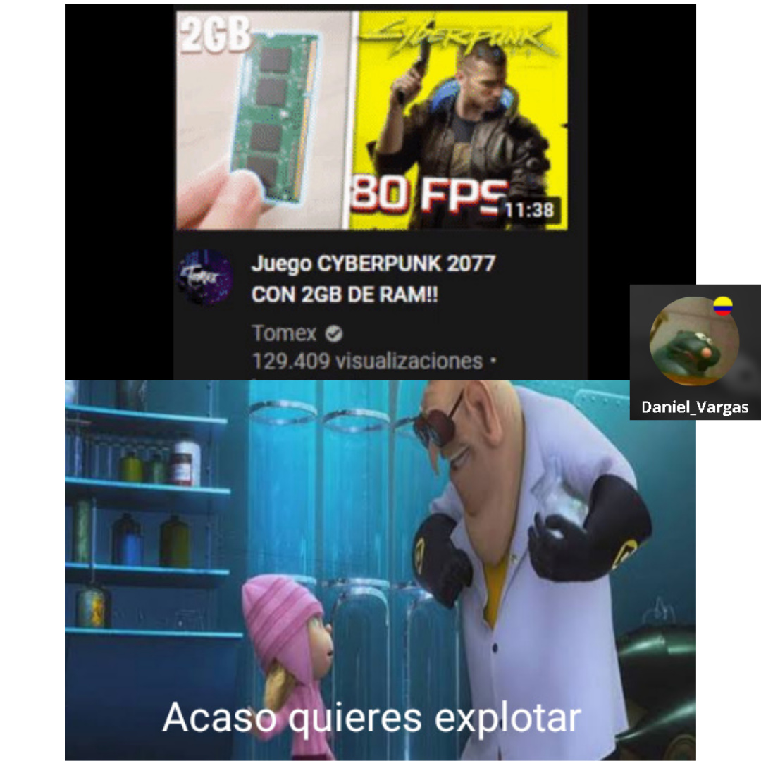 QUIERES QUE EXPLOTE? - meme