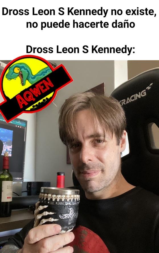 Leon despues de las empanadas de mondongo - meme