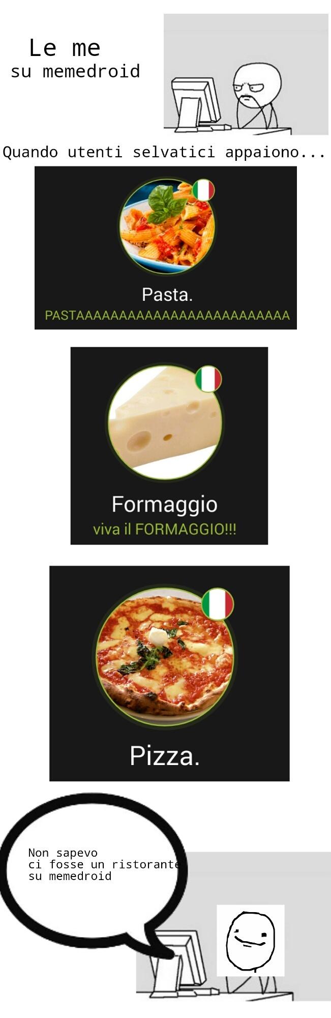 Cito gli utenti-cibo - meme