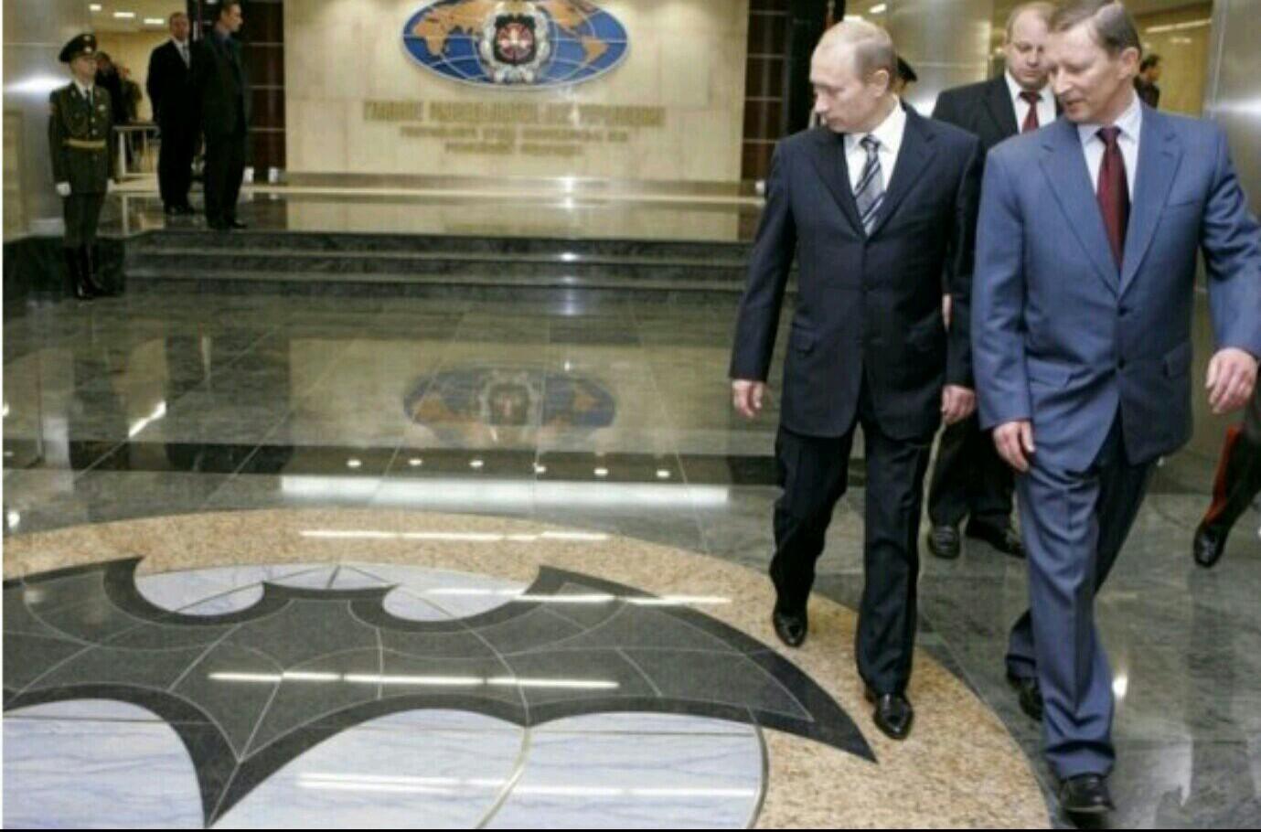 Como cuando Putin es Batman :v - meme