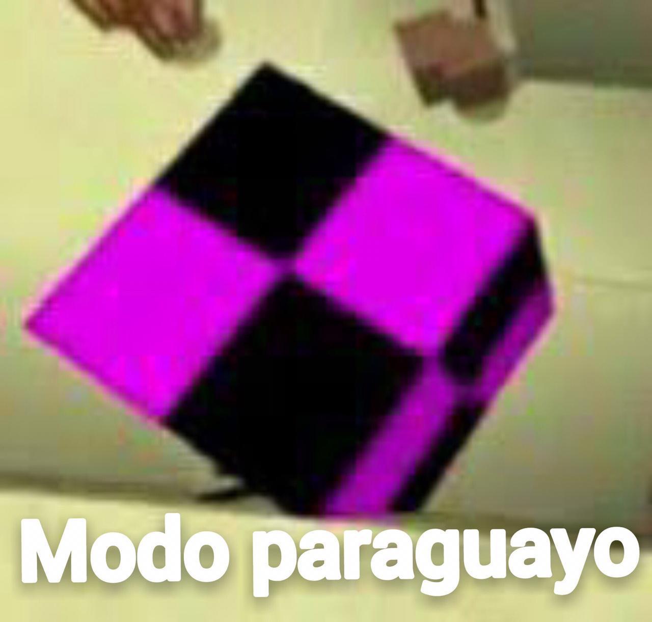 Modo paraguayo - meme