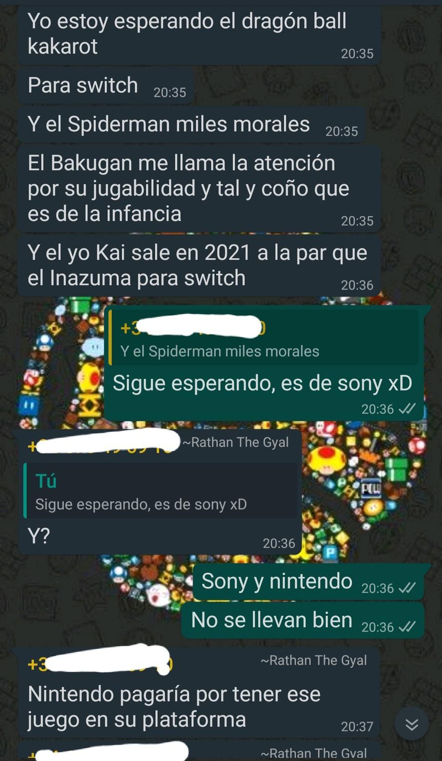 Lo peor es que seguía la conversación diciendo que Sega es propiedad de nintendo y quería llevar la razón XDD - meme