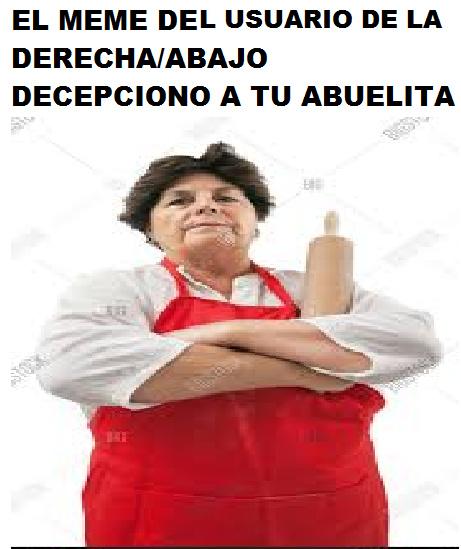 PTA ME OLVIDE LA MARCA DE AGUA - meme