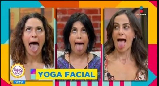 Yoga facial - meme