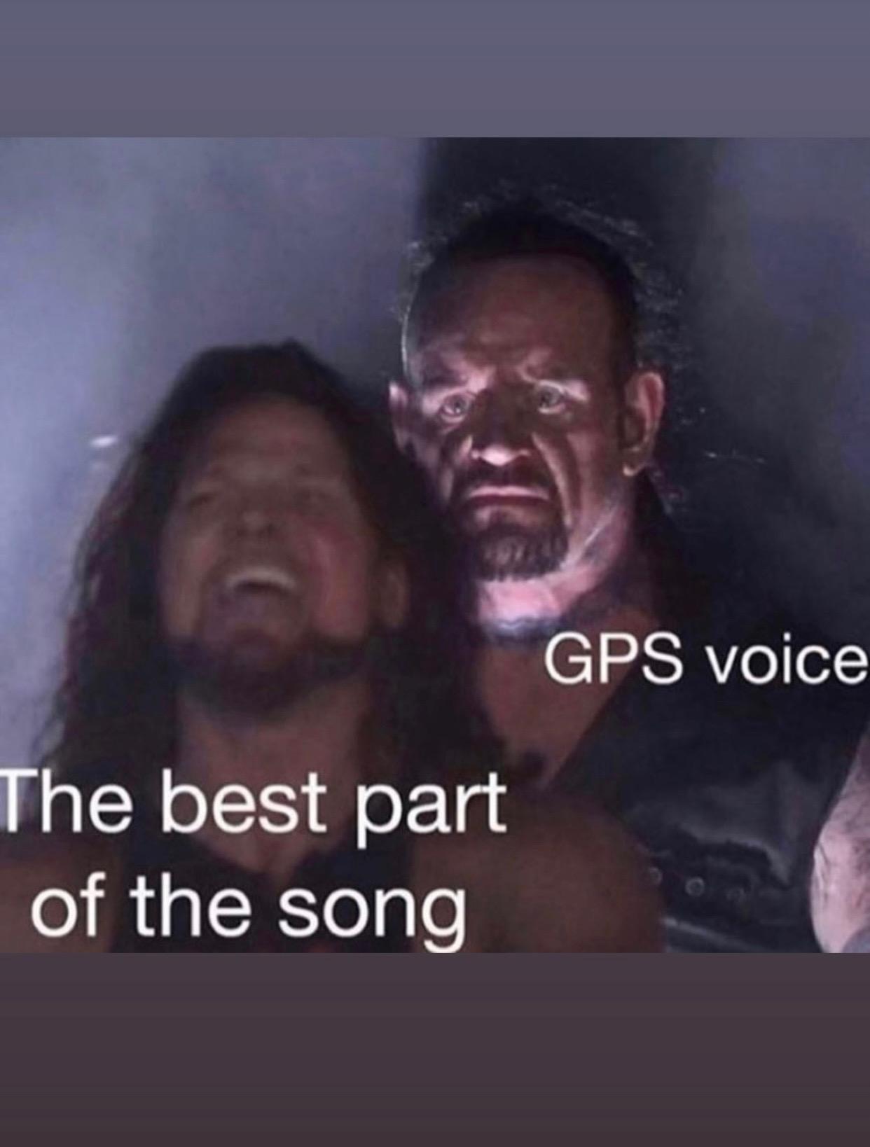 LEFT TURN UP AHEAD - meme
